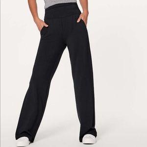 Lululemon wide leg pants hi-rise